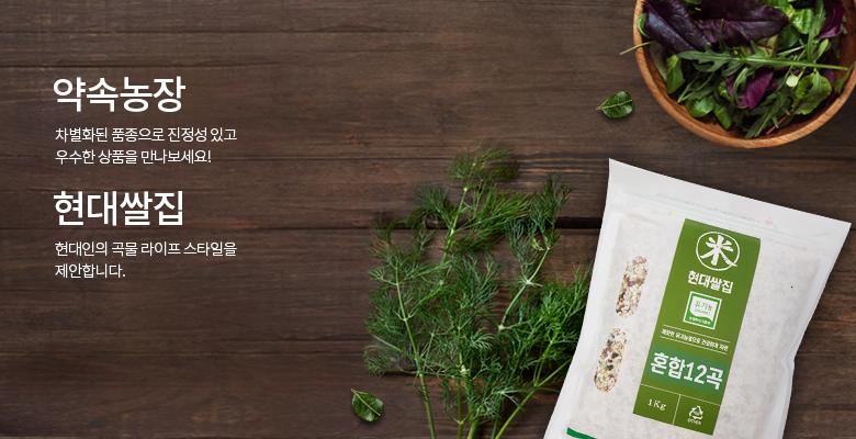 약속농장/현대쌀집