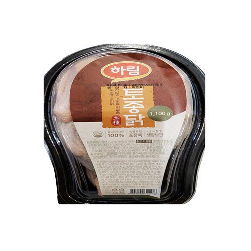 하림 참진토종닭(1,100g이상/팩)