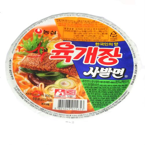 농심 육개장 사발면(86g)