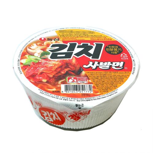 농심 김치사발면(86g)
