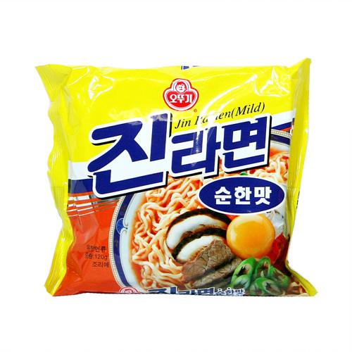 오뚜기 진라면순한맛(120g)