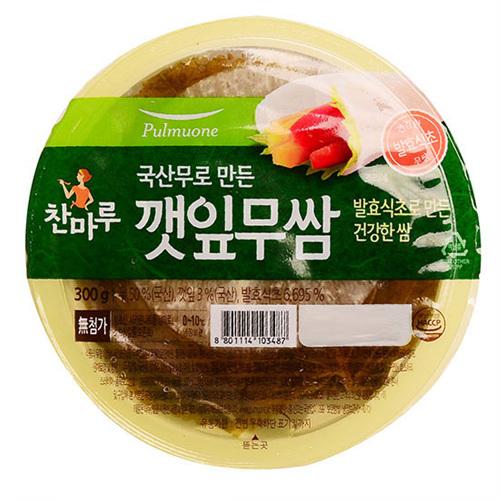 풀무원 깻잎무쌈(300g)