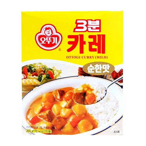오뚜기 3분카레순한맛(200g)
