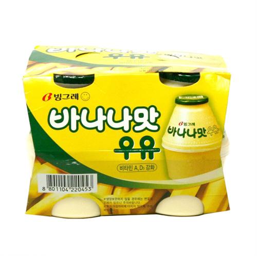 빙그레 바나나우유(240ml*4)