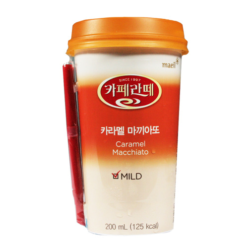 매일 카페라떼 카라멜마끼야또(200ml)