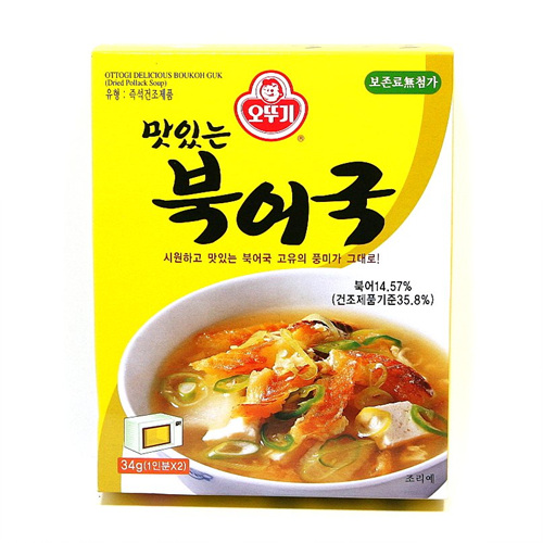 오뚜기 맛있는 북어국(34g)