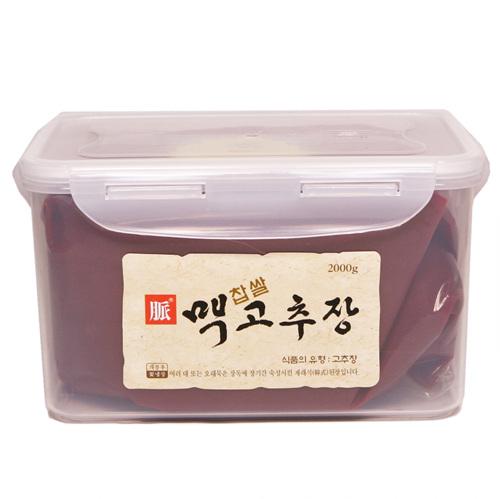 한국맥꾸룸 찹쌀 맥고추장(2kg)