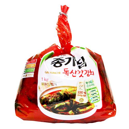 종가집 투명돌산갓김치(1kg)