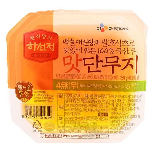 CJ 하선정 맛 단무지(250g)