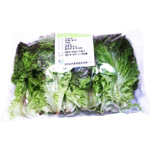 친환경 적상추(150g/봉)