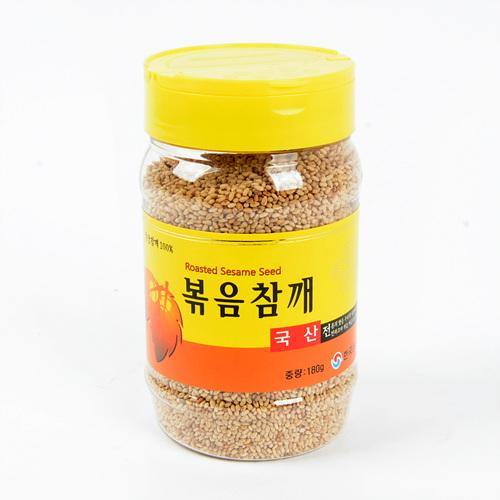 국산 볶음참깨(180g)
