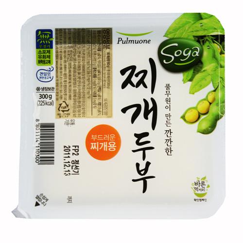 풀무원 부드러운 찌개두부(300g)