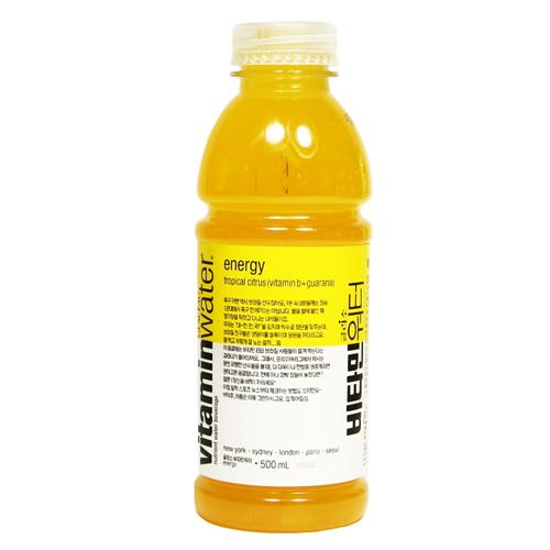 비타민워터 에너지 트로피컬 시트러스맛(500ml)