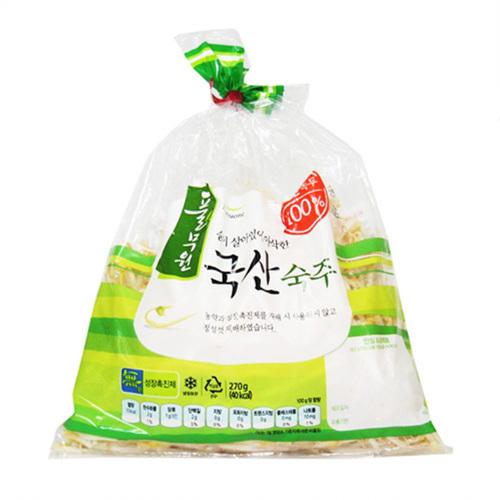 풀무원 국산 숙주나물(270g)