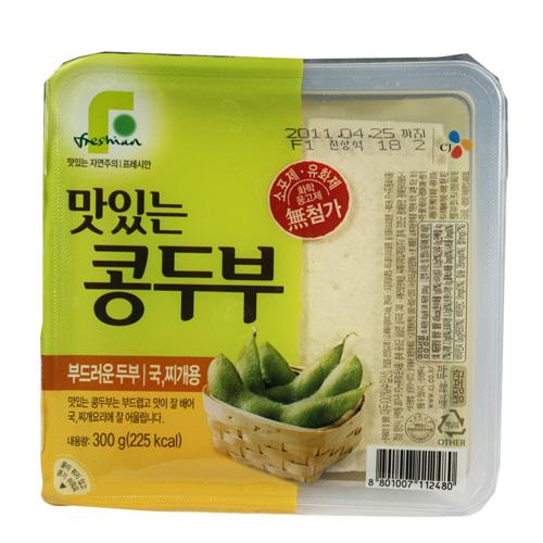 CJ 맛있는콩 찌게용 두부(300g)