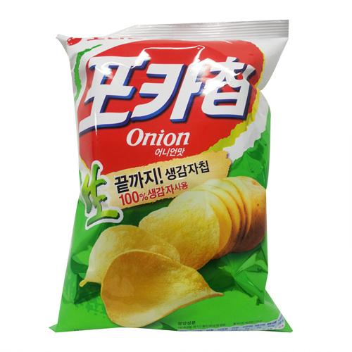 오리온 포카칩 어니언XL(124g)