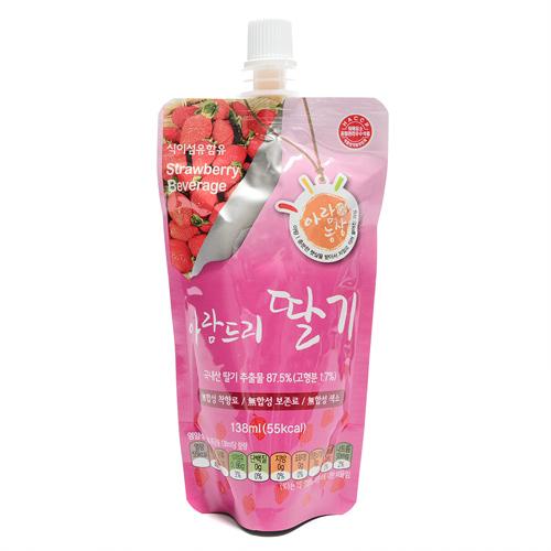 아람농장 무농약 딸기(138ml)