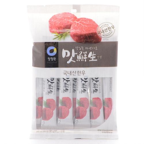 대상 청정원 맛선생 소고기스틱(80g)