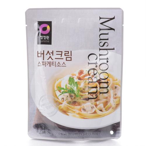 대상 청정원 버섯크림 스파게티소스(250g)