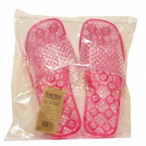 하브레 지압 욕실화 핑크(1p)