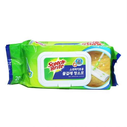 스위퍼 키트용 물걸레 청소포(20매)