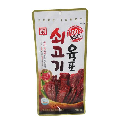 한성 쇠고기 육포(45g)
