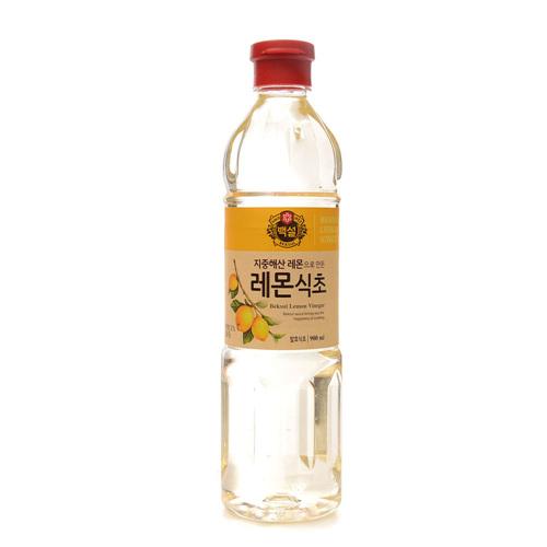 CJ 백설 지중해산 레몬으로 만든 레몬식초(900ml)