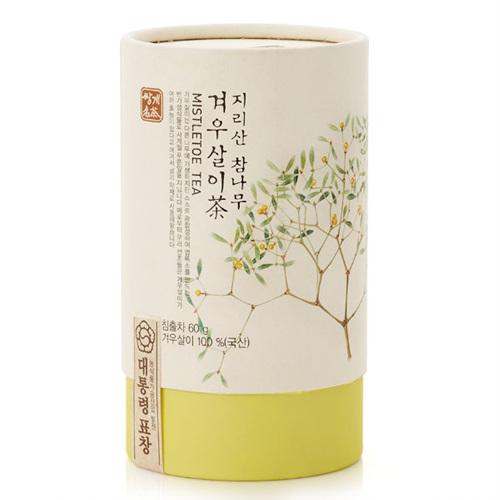 지리산 참나무 겨우살이차(60g)
