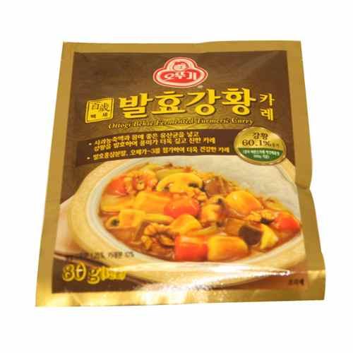 오뚜기 백세발효강황카레(80g)
