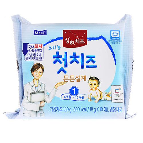 상하 유기농 우리아이 첫치즈 1단계(180g)