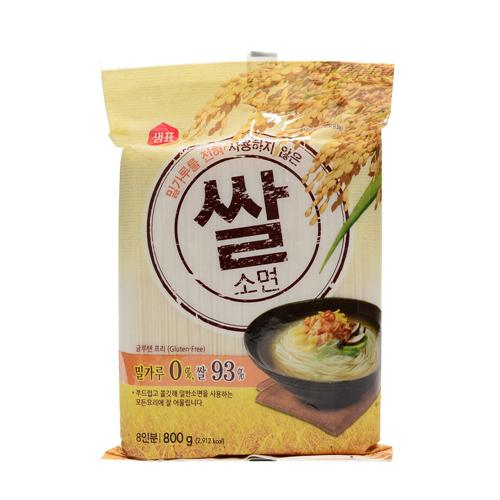 샘표 밀가루를전혀사용하지않은 쌀소면(800g)
