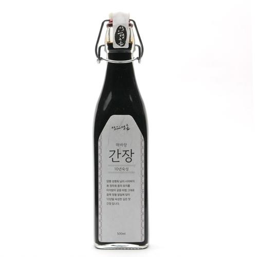 명인명촌 해바랑 재래한식 간장 10년(500ml)