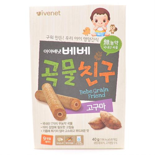아이배냇 베베곡물친구 고구마(40g)