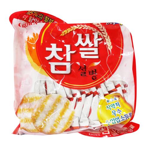크라운 참쌀설병(270g)