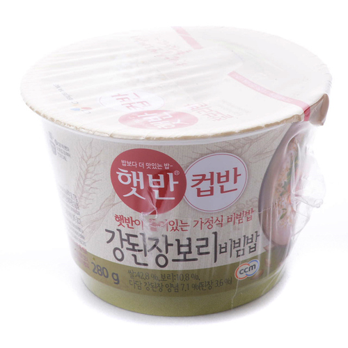 CJ 햇반 컵반 강된장보리비빔밥(280g)