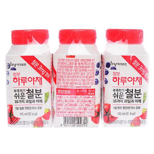 하루야채 레드비타민 (145ml)