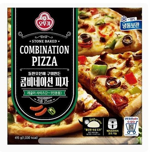 오뚜기 냉동 콤비네이션 피자 (415g)