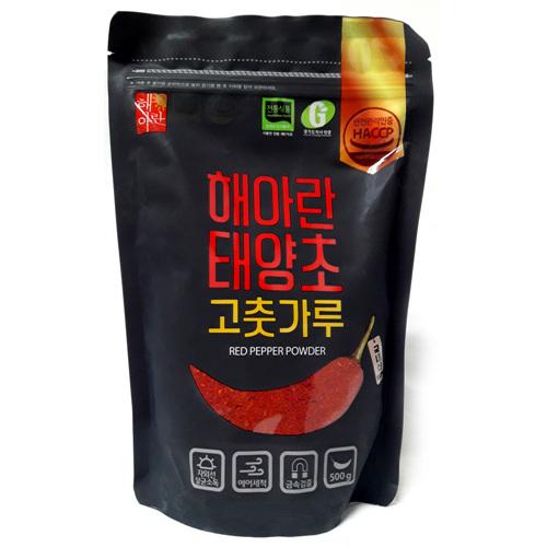 해아란 태양초 고춧가루 보통맛(500g)