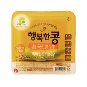CJ 행복한콩 국산콩찌개용(380g)