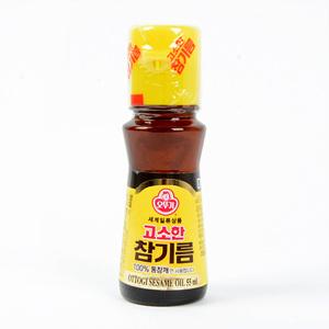 오뚜기 고소한 참기름(55ml)