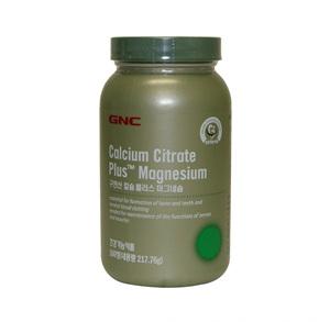 GNC 구연산칼슘 마그네슘(180정)