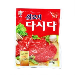 CJ 백설 쇠고기 다시다(100g)
