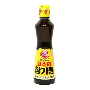 오뚜기 고소한 참기름(320ml)