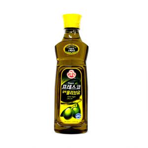 오뚜기 프레스코 압착올리브유(0.5L)