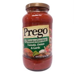 프레고 토마토,양파,마늘맛 파스타소스(680g)