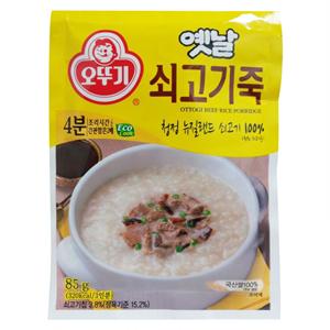 오뚜기 쇠고기죽(85g)