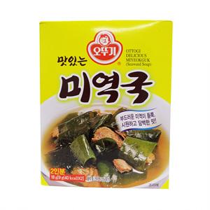 오뚜기 맛있는 미역국(30g)