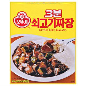 오뚜기 3분 쇠고기 짜장(200g)