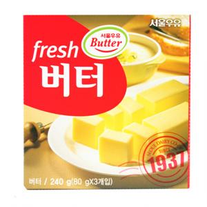 서울 후레쉬 버터(240g)