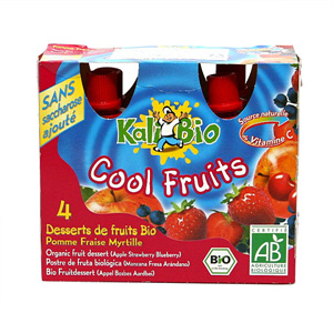 유기농 과일디저트사과딸기맛(360g)